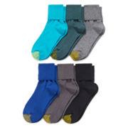 Gold Toe® 6-pk Turn-Cuff Socks