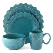 JCPenney Home™ Chantilly Lace 16-pc. Dinnerware Set