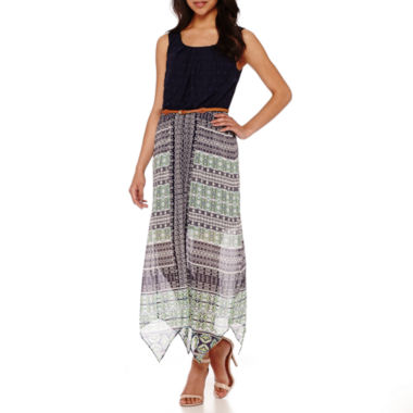 jcpenney.com | Alyx® Sleeveless Belted Maxi Dress - Petite
