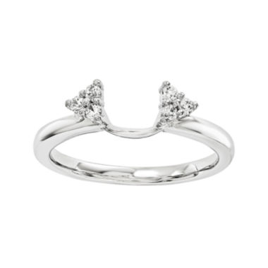 jcpenney.com | Diamond-Accent 14K White Gold Ring Wrap