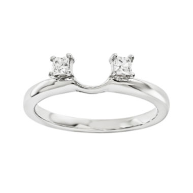 jcpenney.com | Diamond Accent 14K White Gold Ring Wrap