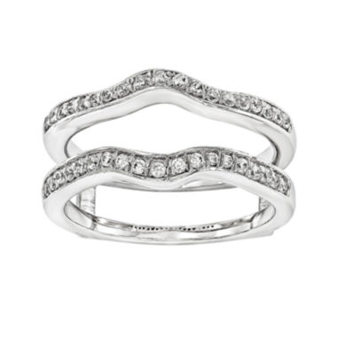 jcpenney.com | 1/3 CT. T.W. 14K White Gold Ring Guard