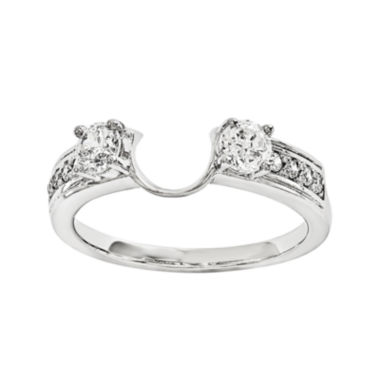 jcpenney.com | 5/8 CT. T.W. Diamond 14K White Gold Ring Enhancer