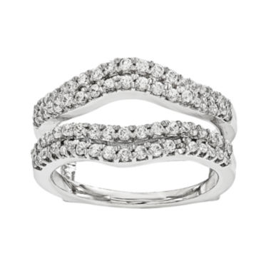 jcpenney.com | 5/8 CT. T.W. Diamond 14K White Gold Ring Guard