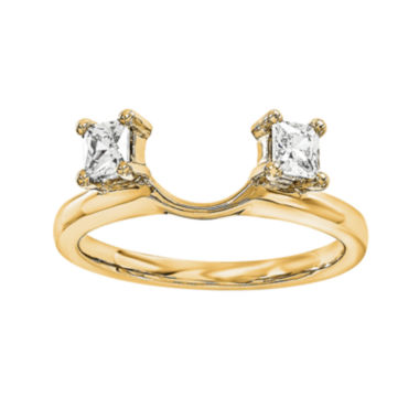 jcpenney.com | 14K Yellow Gold 1/3 CT. T.W. Diamond  Ring Enhancer