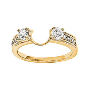 jcpenney.com | 14K Yellow Gold 5/8 CT. T.W. Diamond  Ring Enhancer