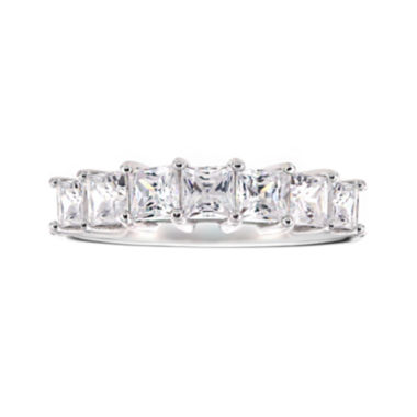 jcpenney.com | DiamonArt® Cubic Zirconia Sterling Silver 7-Stone Ring