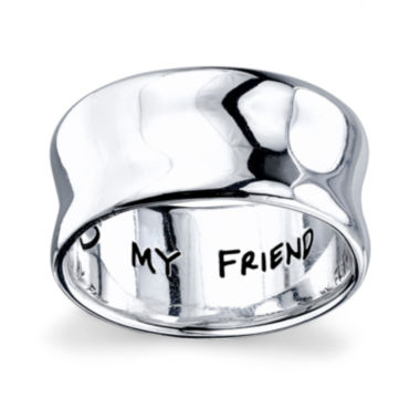 "jcpenney.com | Inspired Moments™ Sterling Silver ""My Sister, My Friend"" Ring"