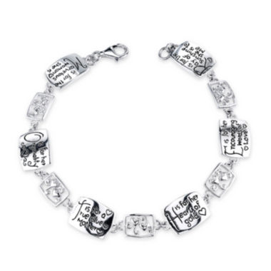 jcpenney.com | Inspired Moments™ Sterling Silver Mother Bracelet
