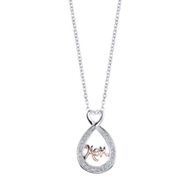 jcpenney.com | Inspired Moments™ Sterling Silver Mom Pendant