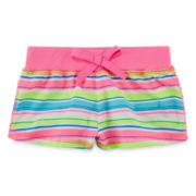 Okie Dokie® Floral-Print Shorts - Baby Girls newborn-24m