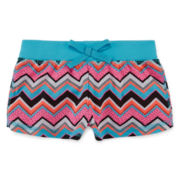 Okie Dokie® Print Pull-On Shorts - Baby Girls newborn-24m
