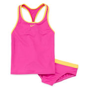 Nike® Racerback 2-pc. Tankini Swimsuit - Girls 7-14