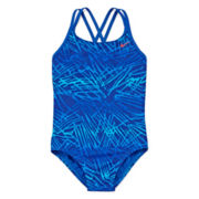 Nike® Flux One-Piece Swimsuit - Girls 7-14