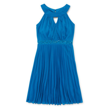jcpenney.com | Emerald Sundae Sleeveless Pleated-Skirt Dress - Girls 7-16