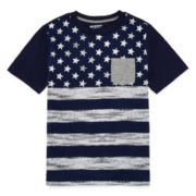 Arizona Printed Fashion Tee - Boys 8-20 and Husky