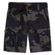 Arizona Belted Cargo Shorts - Boys 8-20