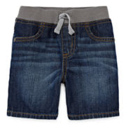 Arizona Classic Denim Shorts - Baby Boys 3m-24m