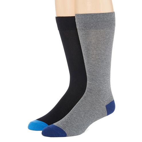 Collection by Michael Strahan 2-pk. Crew Socks - Big & Tall