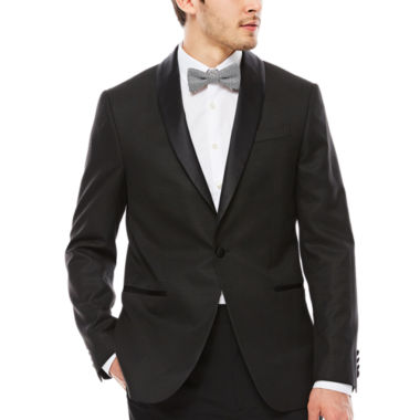 jcpenney.com | JF J. Ferrar Houndstooth Tuxedo Jacket - Slim Fit