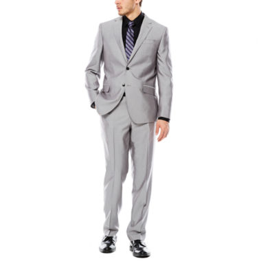 jcpenney.com | JF J.Ferrar Gray Shimmer Suit Separate-Slim Fit