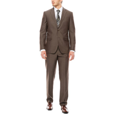 jcpenney.com | JF J. Ferrar® End on End Taupe Slim-Fit Suit Separates
