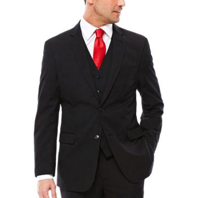 U.S. Polo Assn.® Black Stripe Suit Jacket - Classic Fit