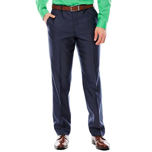 Men's JF J. Ferrar® Shimmer Shark Flat-Front Slim-Fit Suit Pant