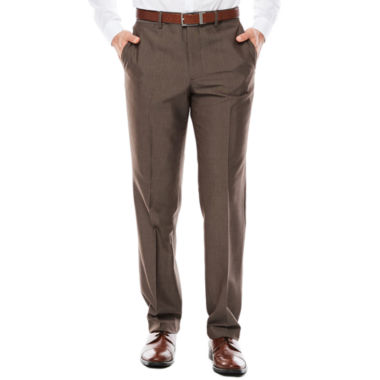 jcpenney.com | JF J. Ferrar® Taupe End on End Slim-Fit Pants