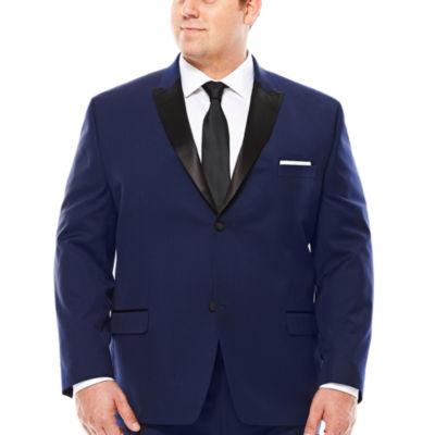 Collection by Michael Strahan Satin Peak Tuxedo Jacket - Big & Tall