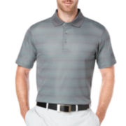 PGA TOUR® Short-Sleeve Mini Argyle Polo