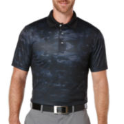 PGA TOUR® Short-Sleeve Performance Camo Print Polo