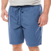 The Foundry Supply Co.™ Elastic Cotton Hiker Shorts - Big & Tall