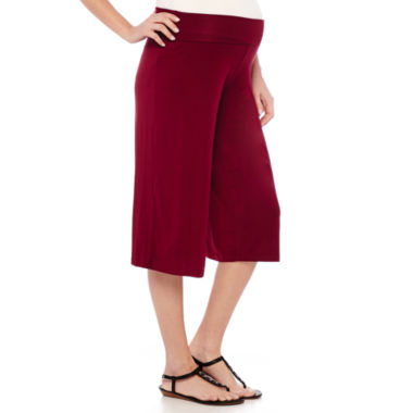 jcpenney.com | Maternity Knit Gaucho Pants