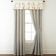 Home Expressions™ Portia 2-Pack Rod-Pocket Curtain Panels