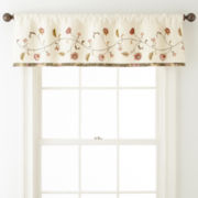 Home Expressions™ Portia Rod-Pocket Valance
