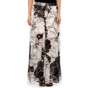Worthington® Floral Print Maxi Skirt - Petite