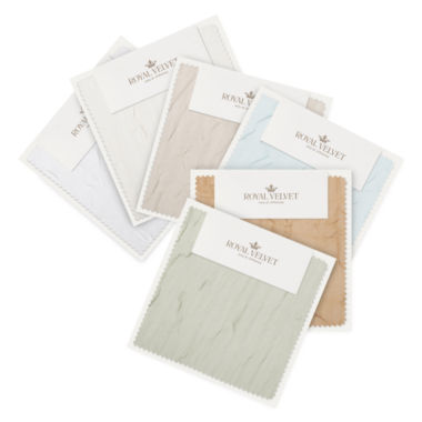 jcpenney.com | Royal Velvet® Crushed Voile Swatch Card