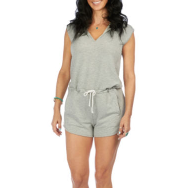 jcpenney.com | PL Movement by Pink Lotus Sleeveless Hooded Mantra Romper