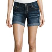 Ariya™ Curvy Denim Low-Rise Shorts