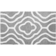 Jean Pierre Giri Reversible Cotton Plush Bath Mat
