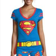 Bio World Superman Short-Sleeve Cape Tee