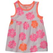 Carter's® Floral-Print Tank Top - Girls 6m-24m
