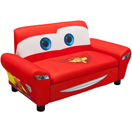 Delta Children's Products Disney Cars Upholstered Sofa
