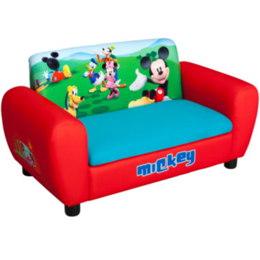 jcpenney.com | Delta Children's Products™ Disney Mickey Mouse Upholstered Sofa