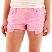 Decree® Destructed Cutoff Shorts