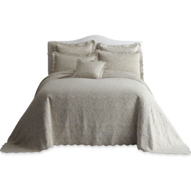 jcpenney.com | Royal Velvet® Coralie Damask Bedspread & Accessories
