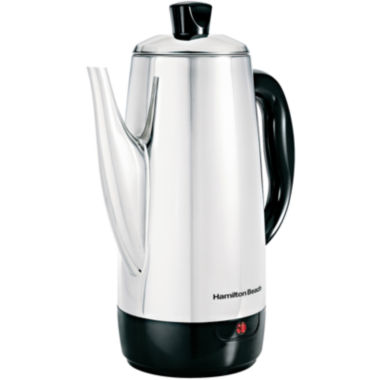 jcpenney.com | Hamilton Beach® 12-Cup Stainless Steel Percolator