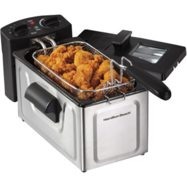 jcpenney.com | Hamilton Beach® 8-Cup Stainless Steel Deep Fryer