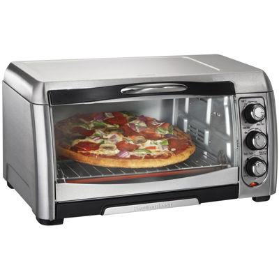 hamilton beach 6 slice toaster oven broiler convection